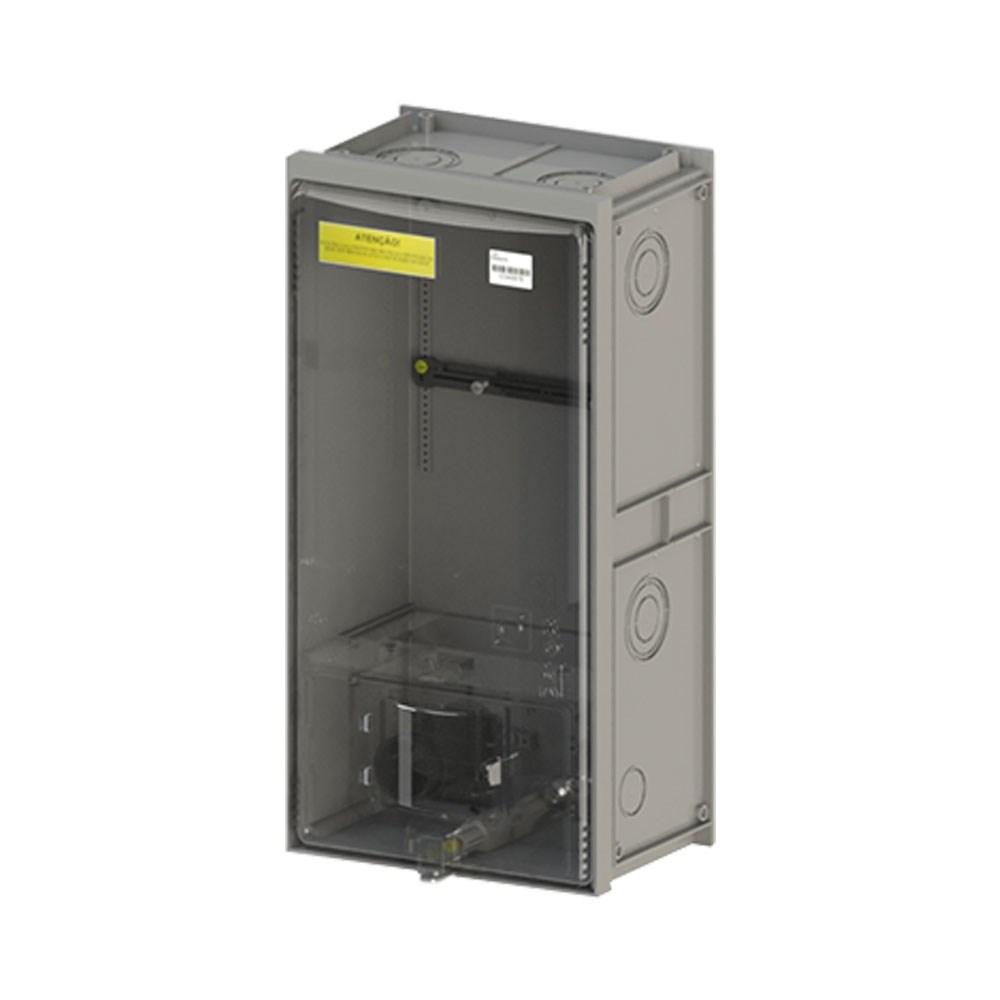 cd056a06c8d Caixa Padrão Eletropaulo Policarbonato p 1 medidor Universal Vazia TAF
